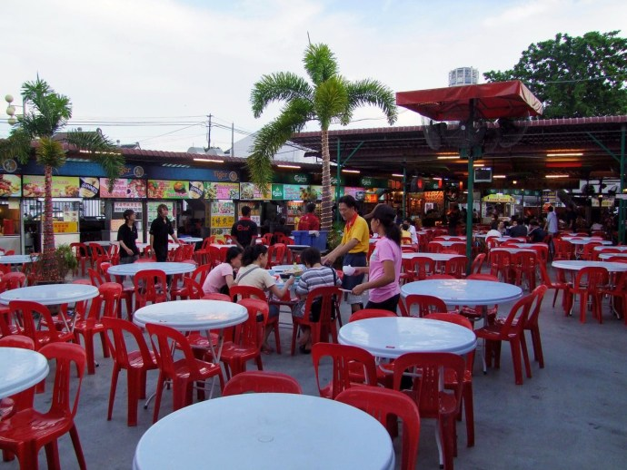 red garden food paradise penang malaisie