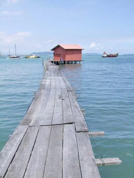 tan jetty penang malaisie
