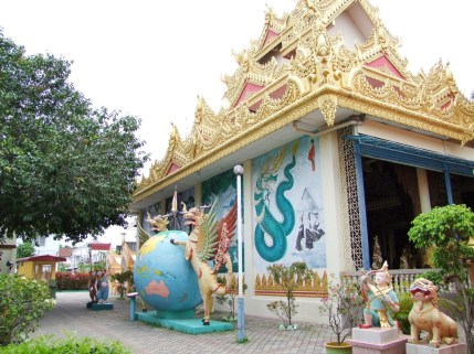 temple birman penang malaisie
