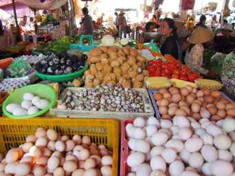 marché hoi an - vietnam