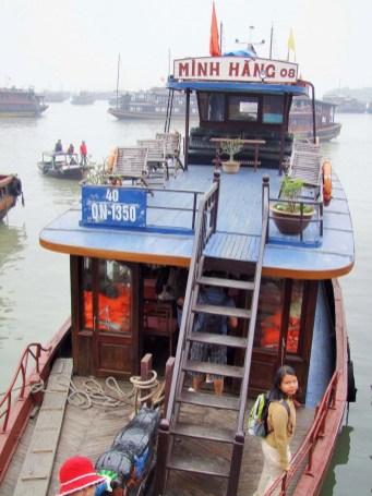 bateau baie halong - vietnam