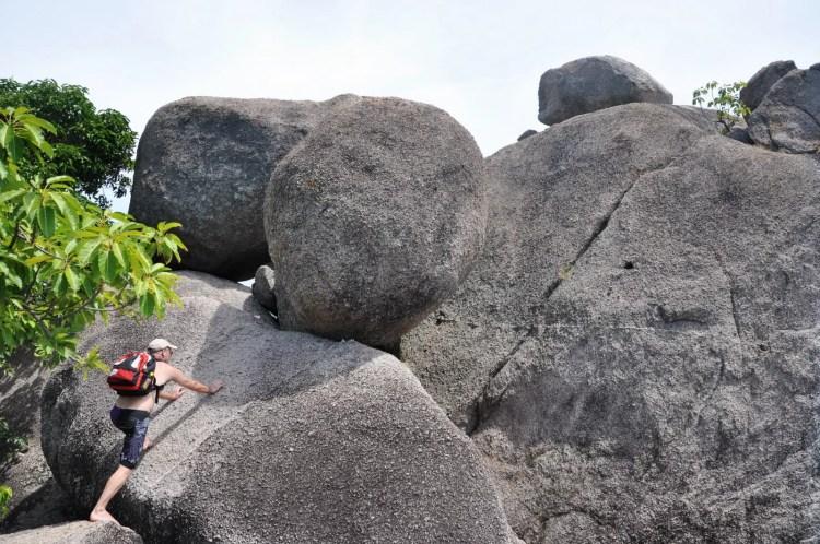 rochers point de vue nang yuan - thailande