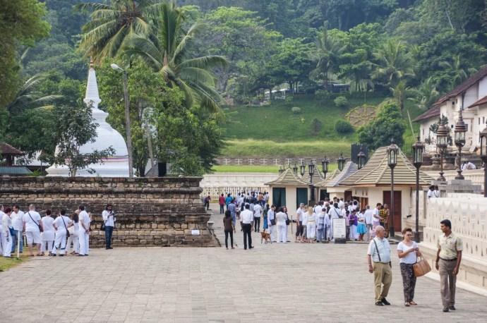 temple de la dent - kandy - sri lanka