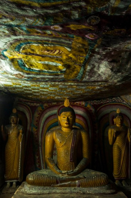grotte second nouveau temple dambulla - sri lanka