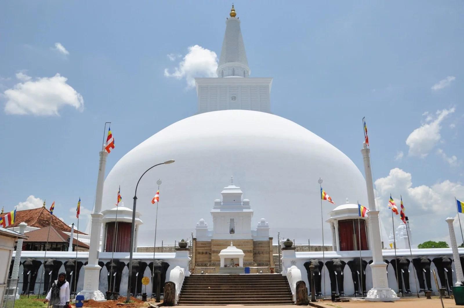 stupa - anuradhapura - sri lanka