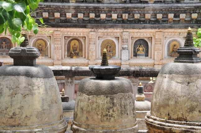temple de la mahabodhi bodhgaya - inde