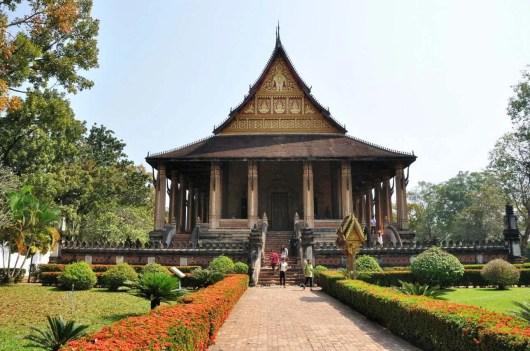 Vat Phra Kèo Vientiane Laos