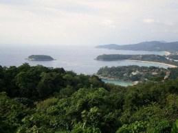 Point de vue sur Phuket, en 2006.