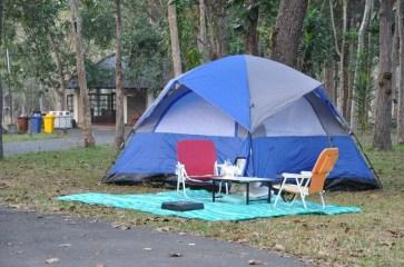 Tente camping Phu Chong Na Yoi National Park-Ubon Ratchathani