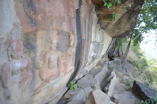 Bas relief Khao Phra Wihan National Park