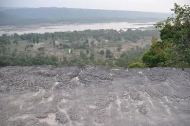 Vue-Sommet-Falaise Pha Taem National Park Ubon Ratchathani