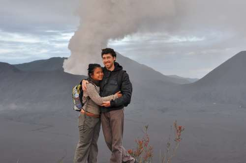 Romain Jitima Bromo Java Indonesie