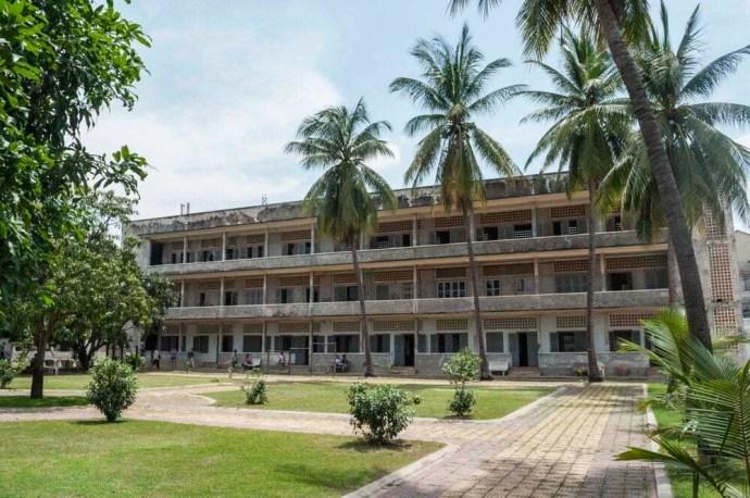 musée Tuol Sleng prison