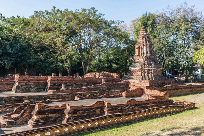ruines de wiang kum kam hang dong chiang mai