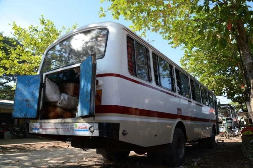 bus entre Pathein et Chaung Tha