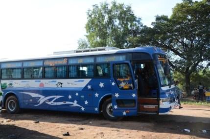 bus entre Yangon et Pathein