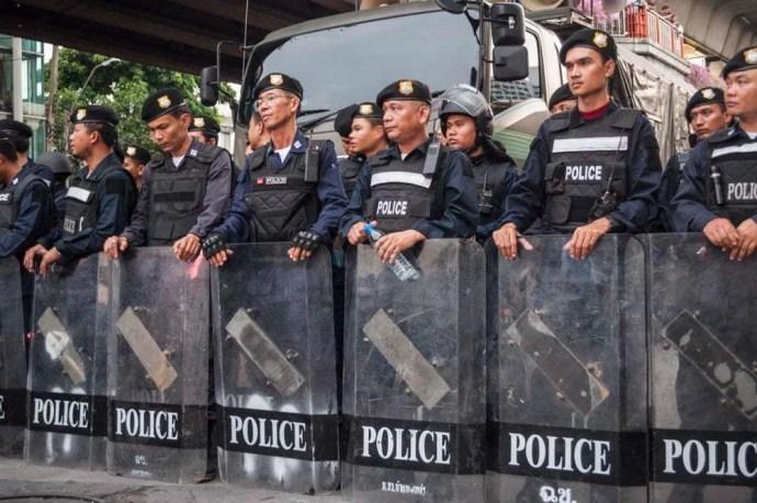 police bangkok 2014