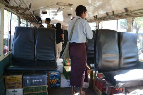 bus pathein chaung tha birmanie