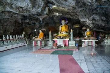 grotte kaw ka thawng hpa an birmanie