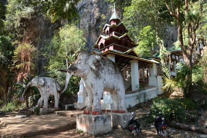 grotte saddan hpa an birmanie