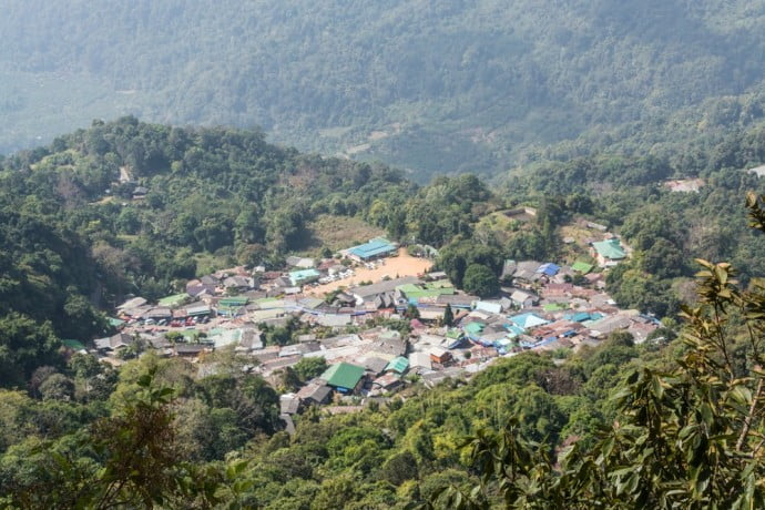village hmong doi pui chiang mai