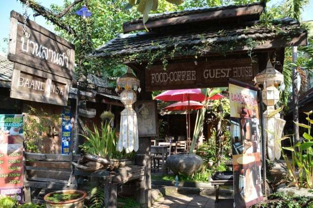 jardin guesthouse chiang mai thailande