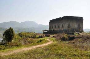 temple sangkhlaburi-province kanchanaburi