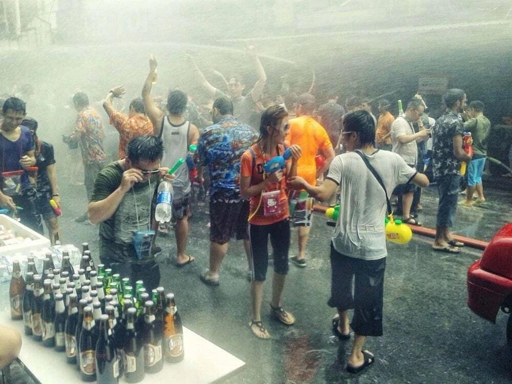 Songkran 2015 Thailande