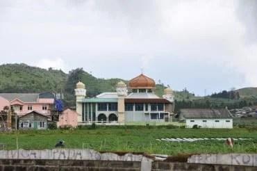 Mosquée Dieng Plateau Java