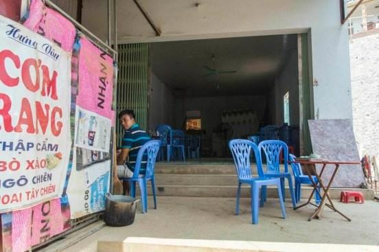 moto nord Vietnam - restaurant Bao Lac