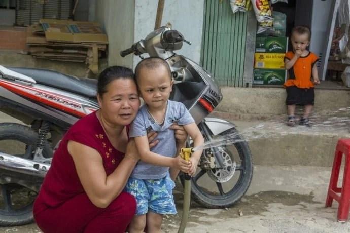 moto nord Vietnam - trajet Bao Lac - Cao Bang