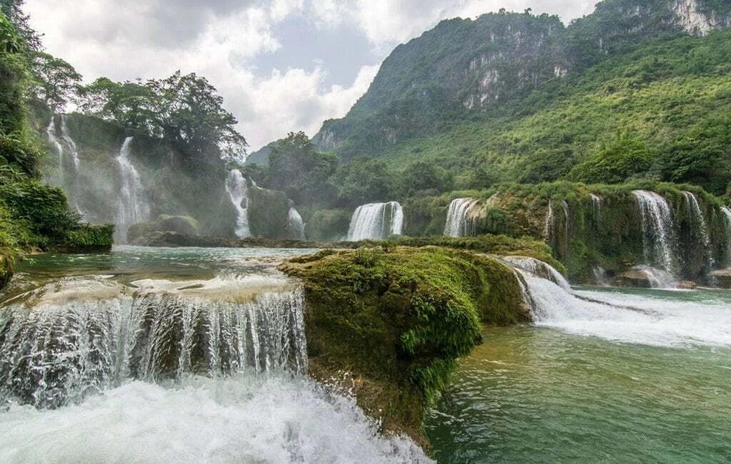 chutes ban gioc - nord vietnam