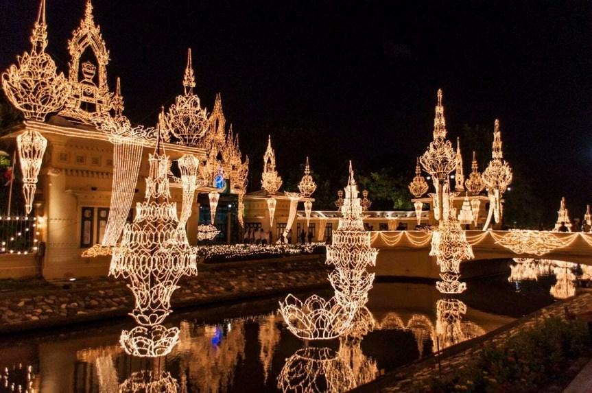 décoration bangkok anniversaire famille royale thailande
