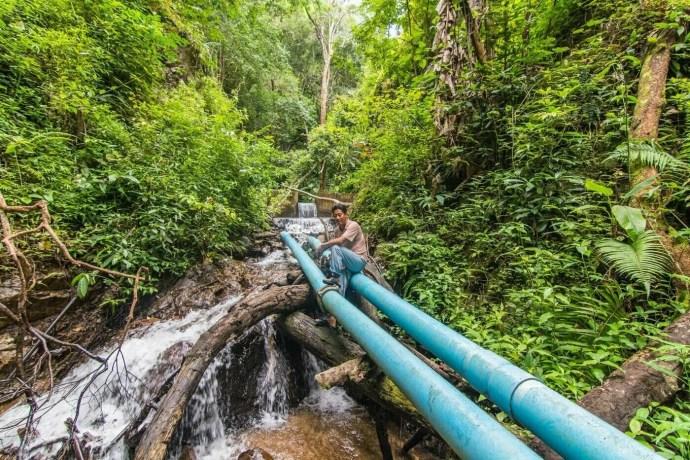 trek cascade chiang dao - thailande