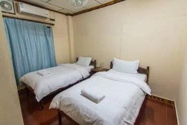 chambre guesthouse Luang Namtha