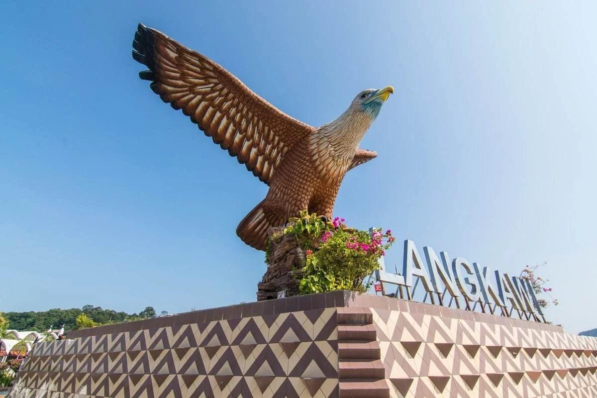 aigle symbole ile langkawi - malaisie