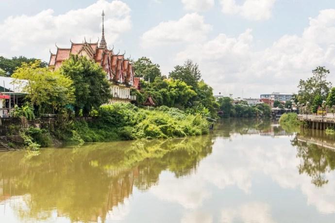 riviere wang et temple kosaram lampang