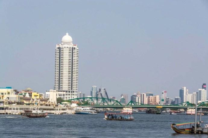 vue depuis thonburi - bangkok