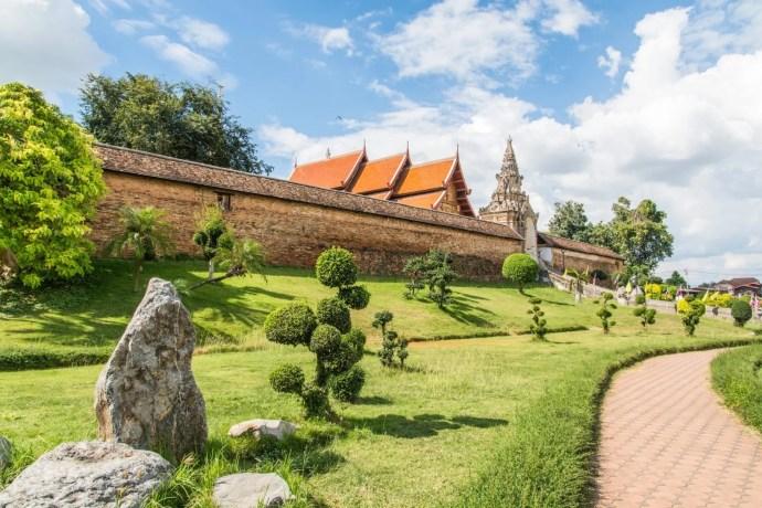 wat phra that lampang luang nord thailande
