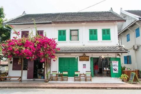 maison volets verts luang prabang - laos