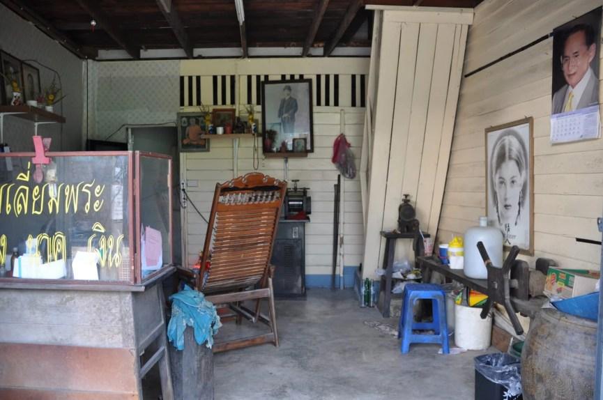 shophouse phetchaburi thailande