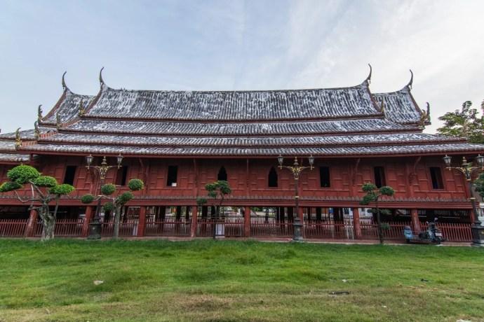 temple bois Wat Yai Suwannaram phetchaburi