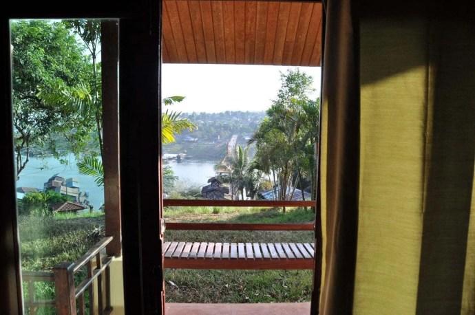 vue chambre samprasob resort sangkhlaburi