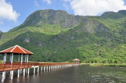 marais thung sam roi yot - thailande