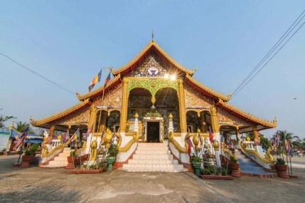 temple huay xai - laos
