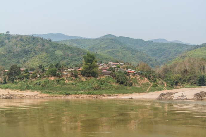 trajet pakbeng luang prabang - croisière mekong laos