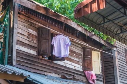 communauté fort mahakan - bangkok - thailande