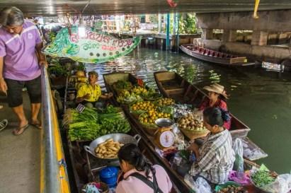 marché flottant lat mayom - bangkok 10