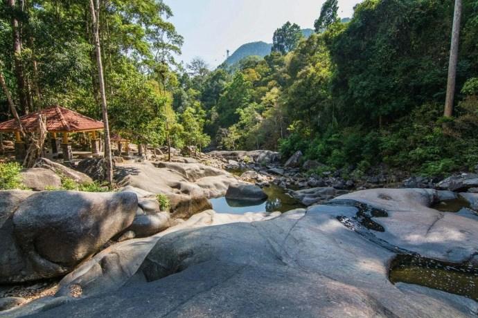 seven wells waterfall langkawi - malaisie