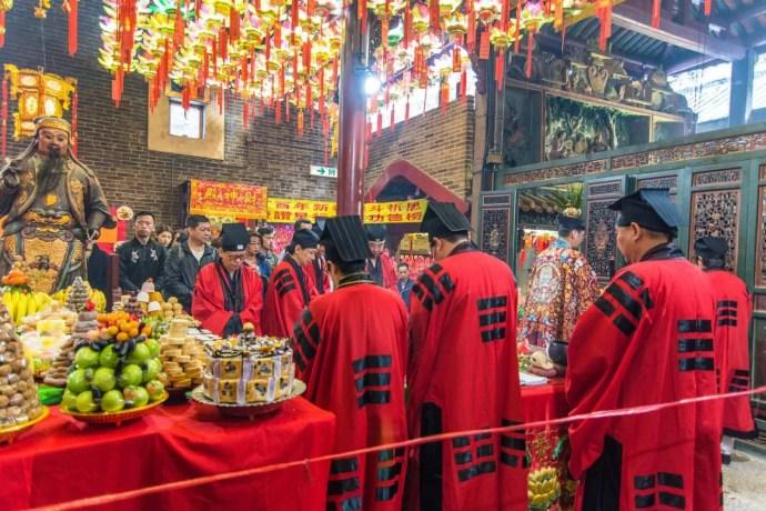ceremonie pak tai temple - hong kong